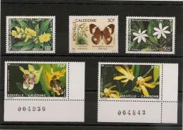 NOUVELLE CALÉDONIE Flore  Années 1990/91  Lot** Côte: 14,00 € - Neukaledonien