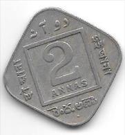*india Britisch 2 Anna  1936 B Km 516  Fr+ - Inde
