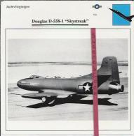 Vliegtuigen.- Douglas D-558-1 - Skystreak - Jachtvliegtuigen. -  V.S. - U.S.A. - Vliegtuigen