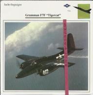 Vliegtuigen.- Grumman F7F - Tigercat - Jachtvliegtuigen. -  V.S. - U.S.A. - Vliegtuigen