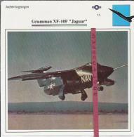 Vliegtuigen.- Grumman XF--10F - Jaguar - Jachtvliegtuigen. -  V.S. - U.S.A. - Vliegtuigen