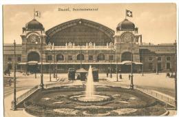 Basel Bundesbahnhof Um 1914 - BS Bâle-Ville