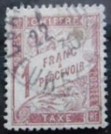 FRANCE Taxe N°40 Oblitéré - 1859-1955 Used