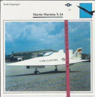Vliegtuigen.- Martin Marietta X-24 - Jachtvliegtuigen. -  V.S. - U.S.A. - Vliegtuigen