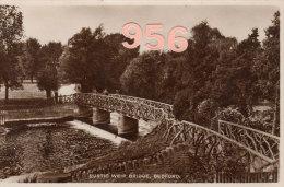 * * BEDFORD * * Rustic Weir Bridge - Bedford
