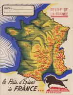 PROTEGE CAHIER LA FRANCE AGRICOLE LE PAIN D´EPICES DE FRANCE BROCHET FRERES BESANCON - Protège-cahiers