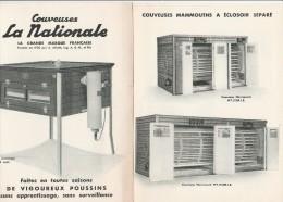 - 45 - BRIARE - PUBLICITE Pour Couveuses LA NATIONALE   - 004 - Advertising