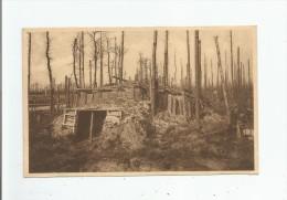 RUINES DE LA FORET D'HOUSTHULST 1914.18 ABRI - Houthulst