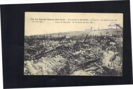 """SOUCHEZ . Carte écrite En 1916 . Il Est écrit Au Crayon : """" Voila Où Les Mines Ont Sauté ."""" - Frankreich"""