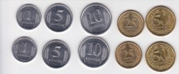 2000 , Moldova , Transnistria ,2 Set Of Coins , UNC - Moldawien (Moldau)