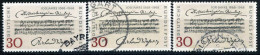 A10-43-6) BRD - 3x Michel 566 - OO Gestempelt - Die Meistersinger Von Nürnberg - [7] West-Duitsland