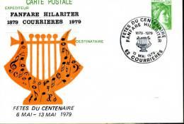 FRANCE - COURRIERES  - ENTIER REPIQUE - FANFARE HILARITER - Musique