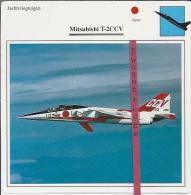Vliegtuigen.- Mitsubishi T-2CCV - Jachtvliegtuigen. -  Japan - Vliegtuigen