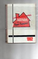 87 - LAURIERE - TRES BEL AGENDA MAISON MARGNOUX & NAVARRE-ALIMENTATION -LA BEZASSADE- 1962-PETITS METIERS - Old Paper