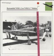 Vliegtuigen.- Kawanishi N1K1-J En N1K2-J - Shiden - Jachtvliegtuigen. -  Japan - Vliegtuigen