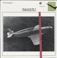 Vliegtuigen.- Rogozarski IK-3 - Jachtvliegtuigen. -  Joegoslavië - Vliegtuigen