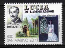 San Marino 1999 Opera Lirica Lucia Di Mammermoor Gaetano Donizetti Nuovo - Music