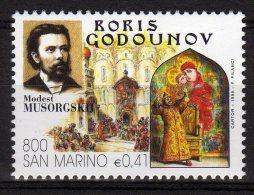 San Marino 1999 Opera Lirica Boris Godounov Musorgsku Nuovo - Music