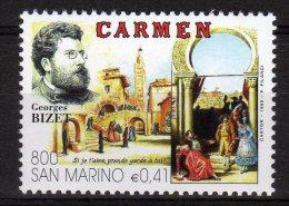 San Marino 1999 Opera Lirica Carmen Georges Bizet Nuovo - Music