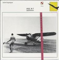 Vliegtuigen.- PZL P-7- Jachtvliegtuigen. -  Polen - Vliegtuigen