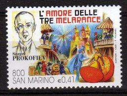 San Marino 1999 Opera Lirica L'Amore Delle Tre Melarance Prokofiev Nuovo - Music