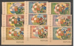 GUINEE EQUATORIAL Imperforated Set Mint Without Hinge - Coppa Del Mondo