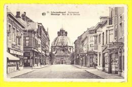 * Scherpenheuvel Zichem - Montaigu (Vlaams Brabant) * (Albert, Nr 55) Statiestraat, Stella Artois, Hotel, Aspirine - Scherpenheuvel-Zichem