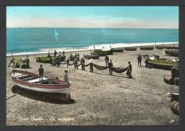 Furci Siculo: Pescatori Nella Spiaggia - Messina