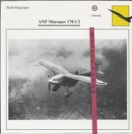 Vliegtuigen.- ANF Mureau 170 C1- Jachtvliegtuigen. -  Frankrijk - Vliegtuigen