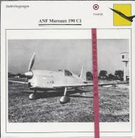 Vliegtuigen.- ANF Mureau 190 C1- Jachtvliegtuigen. -  Frankrijk - Vliegtuigen