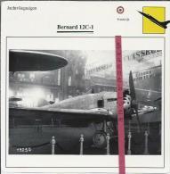 Vliegtuigen.- Bernard 12C-1 - Jachtvliegtuigen. -  Frankrijk - Vliegtuigen