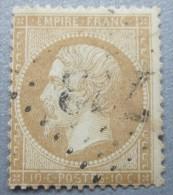 B0228 - France - 1862-74 - Sc. 25 - 1863-1870 Napoléon III. Laure