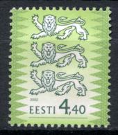 Estland Estonia Estonie Stamp 2000 Coat Of Arms Lion Stamp Mi 450 MNH - Estonia