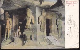 CPA - (Inde) The Linga Shrine Elephanta Caves. Bombay - Inde