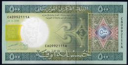 MAURITANIA   : Banconota 500 Ouguiya - P12a - 2004 - UNC - Mauritania