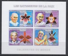 Congo 2006 Les Batisseurs De La Paix M/s IMPERFORATED ** Mnh (27005D) - Ongebruikt