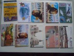 Old Phonecards  HUNGARY  - 10  Pcs - D137312 - Hongrie