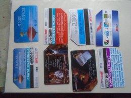 Old Phonecards ITALIA  - 8  Pcs - D137314 - Italie