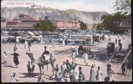 CPA - (Inde) Street Scene, Jeypore (carte Très Abimée) - Cartes Postales