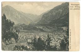 MEYRINGEN Vom Brüning Aus Gesehen Um 1904 - BE Bern