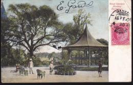 CPA - (Inde) Bund Gardens Shewing Bandstand, Poona - Inde