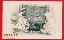 Alger - La Partie D'échecs  - Fumeur De Narguilé  - J. Geiser - Algerien