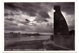 I 72100 BRINDISI, Monumento Al Marinaio D'Italia - Brindisi