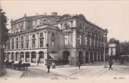 Cp , 51 , REIMS , Le Théâtre - Reims