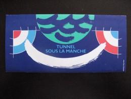 TB Pochette D´émissions Commune: Gde Bretagne - France : P 2880 De 1994 , Neufs XX. Tunnel Sous La Manche .Avec Timbres. - France