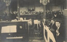 EGYPTE - ALEXANDRIE - BELLE CARTE PHOTO  DISTRIBUTION DES PRIX AU LYCEE FRANCAIS 27 NOVEMBRE 1921  TENTE DANS LA COUR - Alexandria