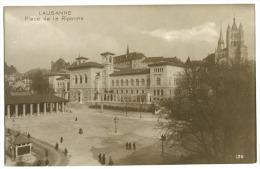 Lausanne Place De La Riponne Carte Photo Env. 1910 - VD Waadt