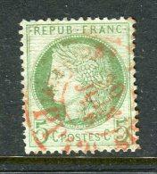 Superbe N° 53 Cachet à Date Rouge Des Imprimés - 1871-1875 Ceres