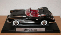 Corvette Von 1958 Von Motor Max - Voitures, Camions, Bus