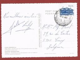 Postkaart  Zuid Africa Kaappunt Natuurreservaat  Cape Town 14/10/1983 - Protection De L'environnement & Climat
